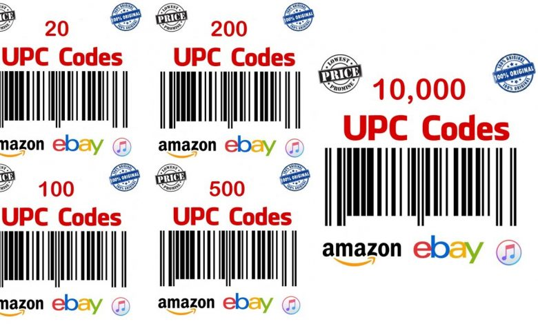 How To Buy UPC Codes For Items On Amazon